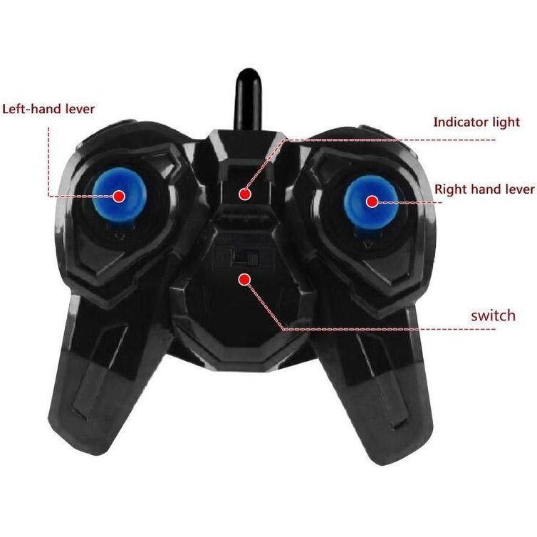 Радиоуправляемый Перевертыш Stalker с колесам-конусами (2.4GHz, 27 см)