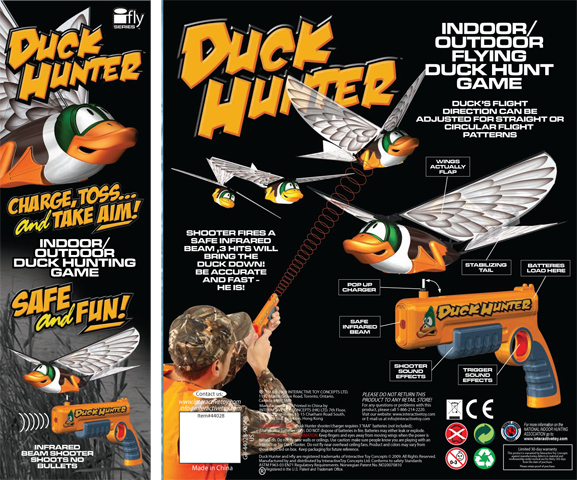 Duck Hunter (Утиная охота с пультом управления)