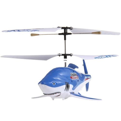Радиоуправляемая рыба-вертолет Акула