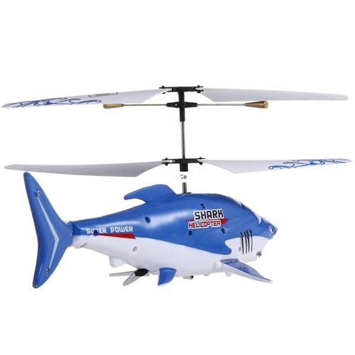 Радиоуправляемая рыба-вертолет Акула - Фото