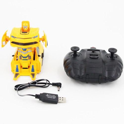 Радиоуправляемый стенолаз-трансформер Бамблби (16 см) - В интернет-магазине