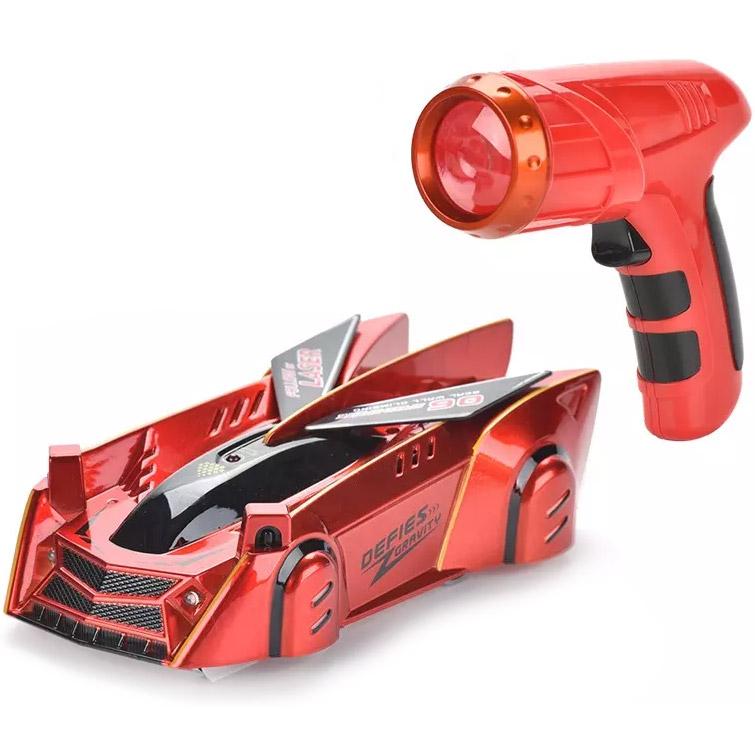 Машинка-стенолаз следующая за лазерным лучом (15 см.)