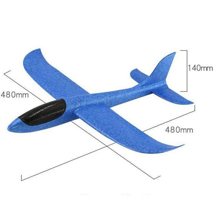 Самолет-планер метательный (48 см.) - В интернет-магазине