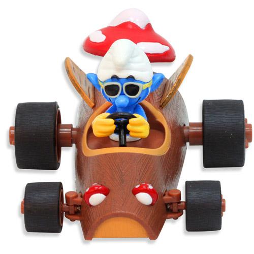 Радиоуправляемая машинка Красавчик Смурф - игрушка (12 см)