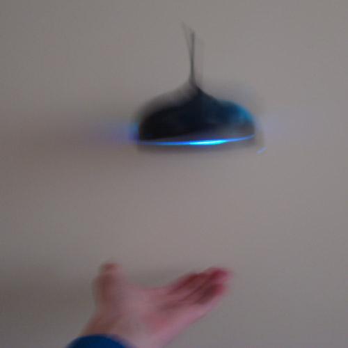 Ручная НЛО (управление руками, 14 см)
