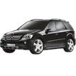 Черный Радиоуправляемый Mercedes-Benz ML (1:14, 34 см)