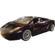 Черный Радиоуправляемая Lamborghini Gallardo (1:14, 33 см)