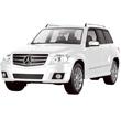 Белый Радиоуправляемая Mercedes-Benz GLK (1:14, 33 см)