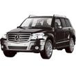 Черный Радиоуправляемая Mercedes-Benz GLK (1:14, 33 см)