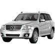 Серебристый Радиоуправляемая Mercedes-Benz GLK (1:14, 33 см)