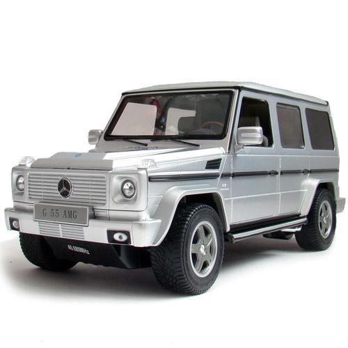 Серебристый Радиоуправляемый Mercedes G55 (Гелендваген, 1:14, 33 см)