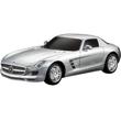 Серебристый Маленькая радиоуправляемая машинка Mercedes-Benz SLS AMG (1:24, 17 см)