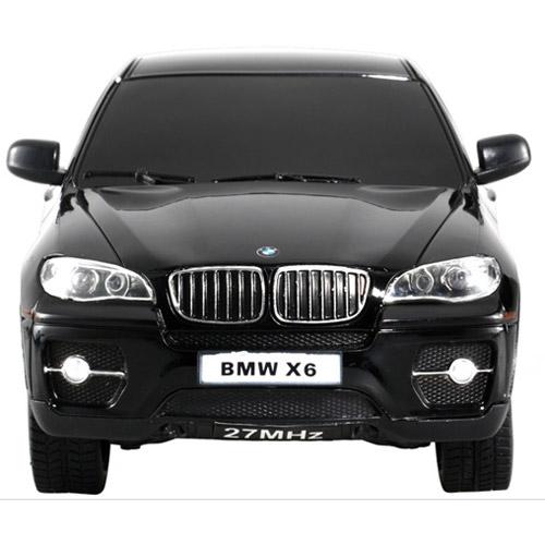 Черный Маленькая Радиоуправляемая Машинка BMW X6 (1:24, 20 см.)