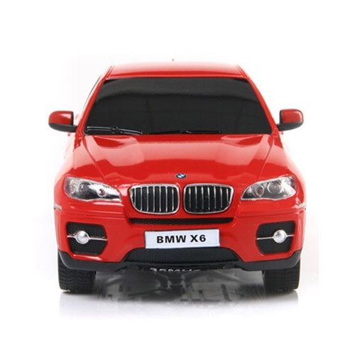 Красный Маленькая Радиоуправляемая Машинка BMW X6 (1:24, 20 см.)