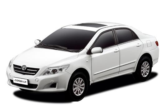 Маленькая радиоуправляемая машинка Toyota Corolla (1:24, 17 см.)