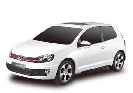 Маленькая радиоуправляемая машинка Volkswagen Golf GTI (1:24, 17 см)