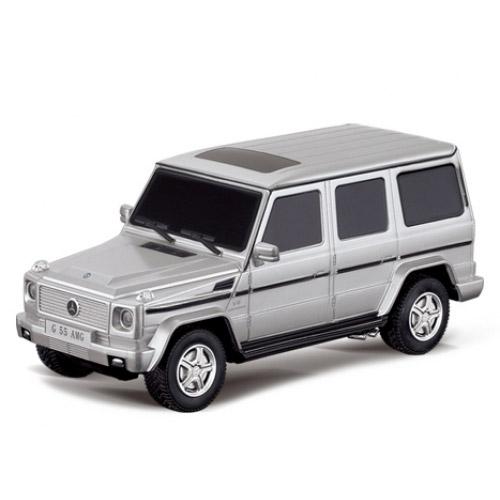 Серебристый Радиоуправляемая машинка Mercedes-Benz G55 AMG (1:24, 19 см)