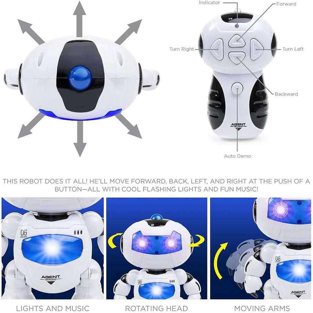 Радиоуправляемый робот Танцор (22 см) - Фотография