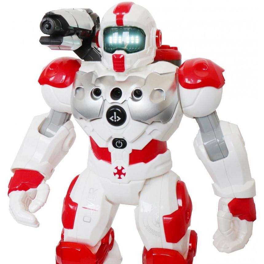 Радиоуправляемый робот Пожарный (брызгает водой, 32 см.) - Картинка
