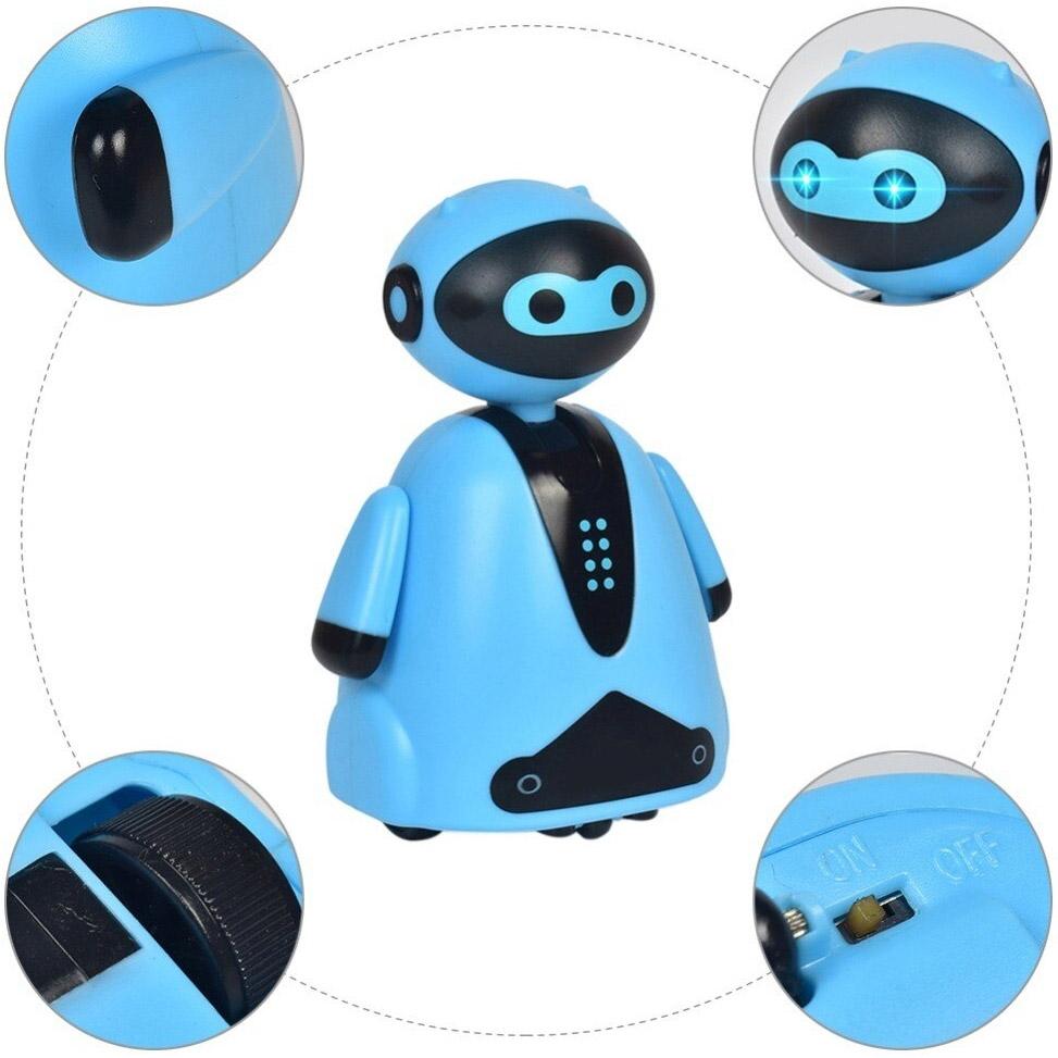 Индукционный робот (едет по нарисованной линии, 9 см.) - В интернет-магазине