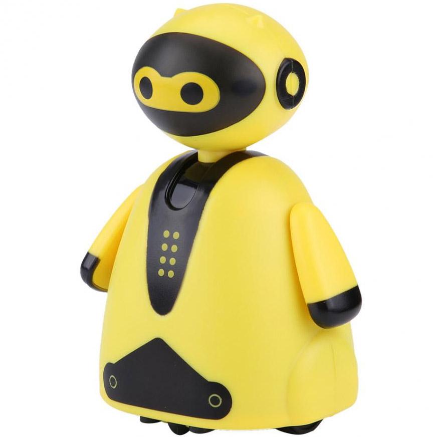 Желтый Индукционный робот (едет по нарисованной линии, 9 см.)
