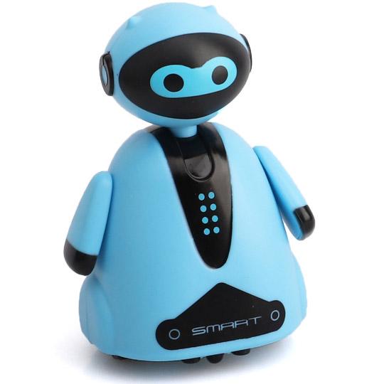 Голубой Индукционный робот (едет по нарисованной линии, 9 см.)