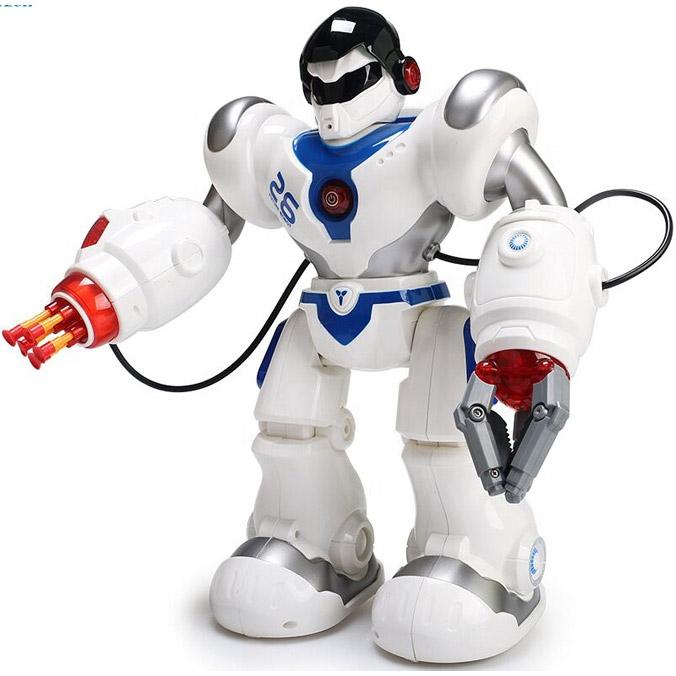 Радиоуправляемый робот Кибервоин (стреляет присосками, 36 см.)