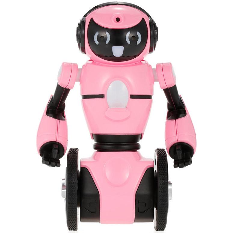Розовый Радиоуправляемый Робот-официант (19 см.)
