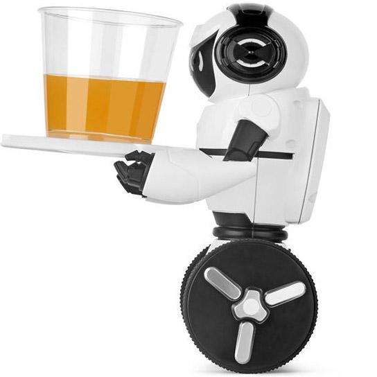 Радиоуправляемый Робот-официант (19 см.) - Фото