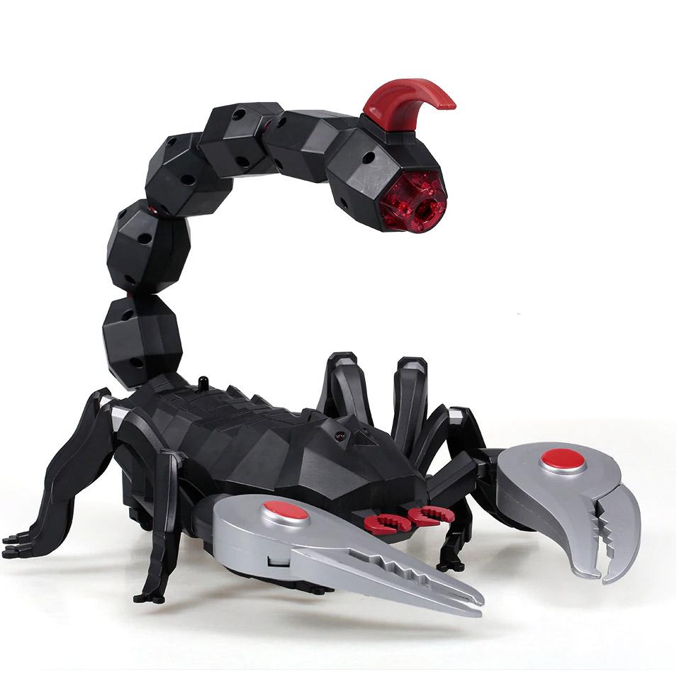 Радиоуправляемый Робо-Скорпион Механический (большой, пускает пар, 33 см.)