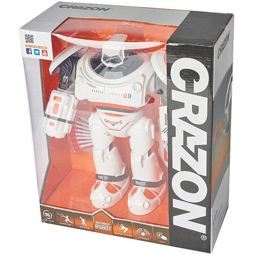 Радиоуправляемый робот Crazon Defenders (стреляет ракетами, 33 см.) - Картинка