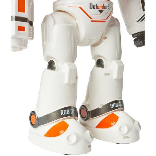 Радиоуправляемый робот Crazon Defenders (стреляет ракетами, 33 см.) - Изображение