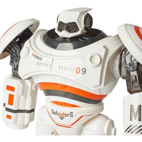 Радиоуправляемый робот Crazon Defenders (стреляет ракетами, 33 см.) - Фото