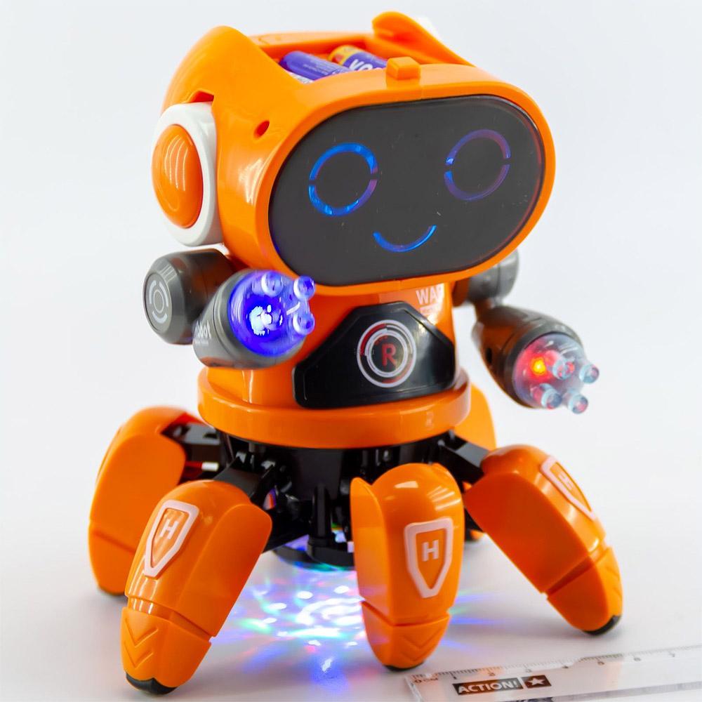 Танцующий робот-осьминожка (18 см)