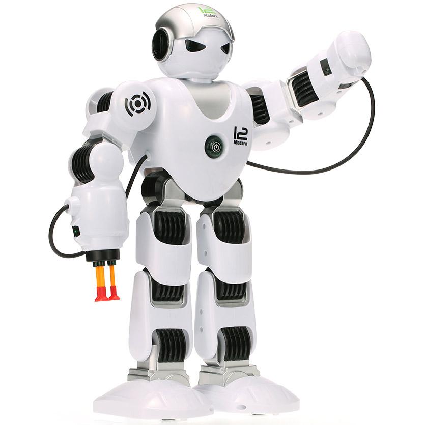 Радиоуправляемый робот Z-Alpha (стреляет ракетами, 39 см.) - Фотография