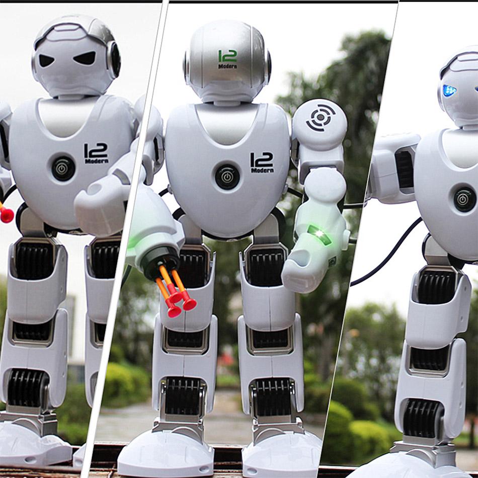 Радиоуправляемый робот Z-Alpha (стреляет ракетами, 39 см.) - Картинка