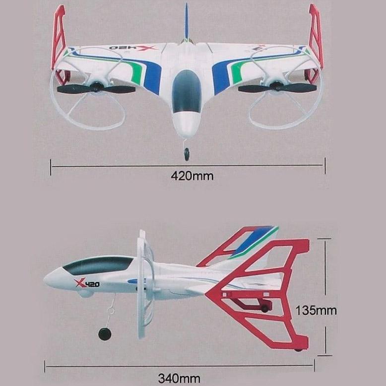 Радиоуправляемый Самолет Cessna-182 (42 см, 2.4GHz)