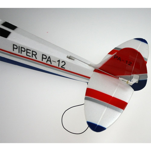 Самолет Piper PA-12 Super Cruiser  - Фото