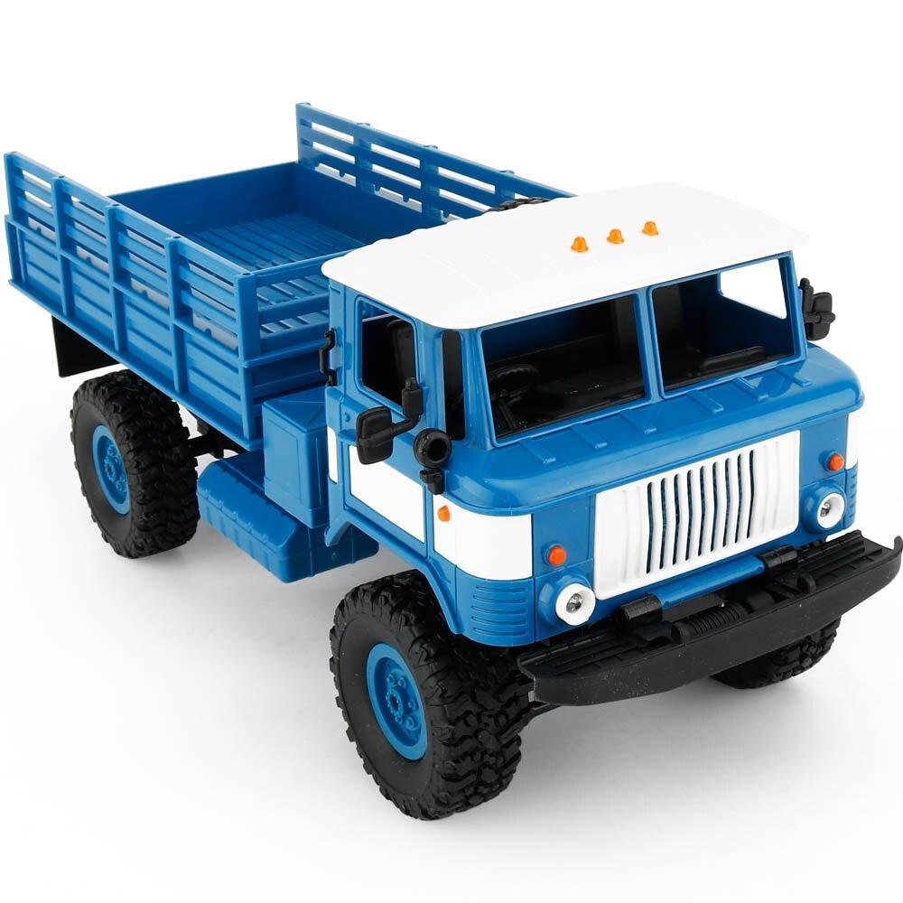 Синий Радиоуправляемый Грузовик ГАЗ-66 Шишига (1:16, 35 см.)