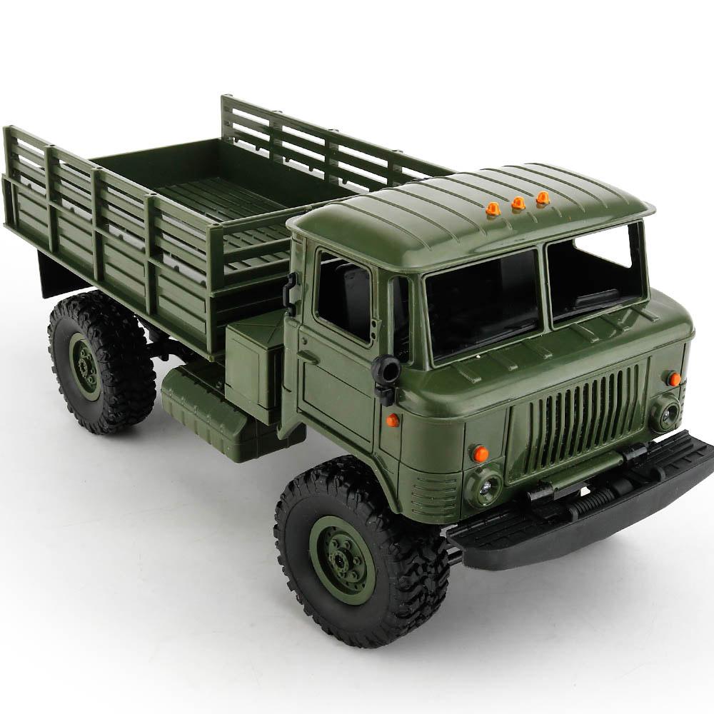 Зеленый Радиоуправляемый Грузовик ГАЗ-66 Шишига (1:16, 35 см.)