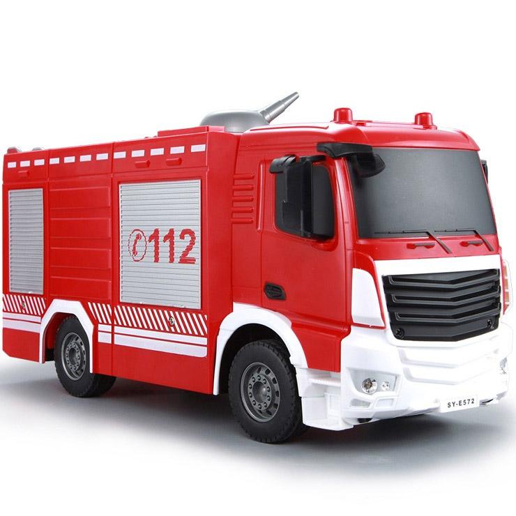 Радиоуправляемая Пожарная машина (1:26, 30 см.) - Фотография