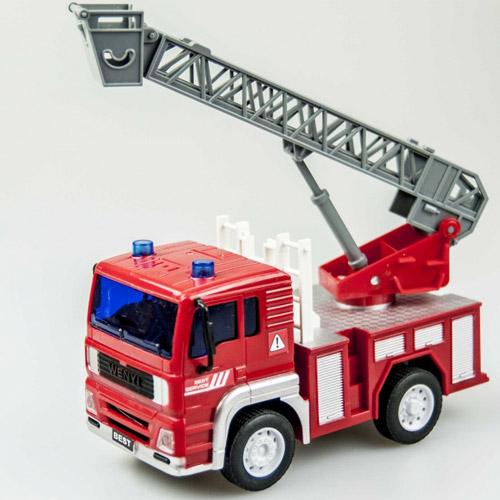 Радиоуправляемый Пожарная автолестница WenYi (1:20, 19 см.)