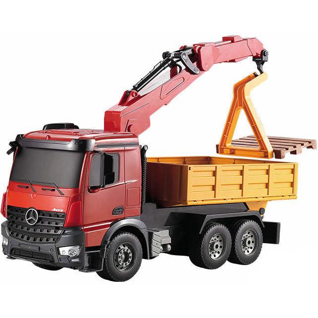 Радиоуправляемый грузовик-кран Mercedes-Benz Arocs (1:20, 38 см.)