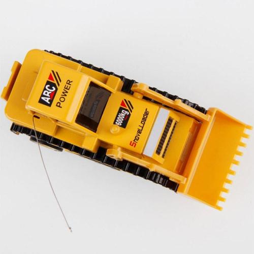 Радиоуправляемый Мини Бульдозер (9 см.) - Фотография