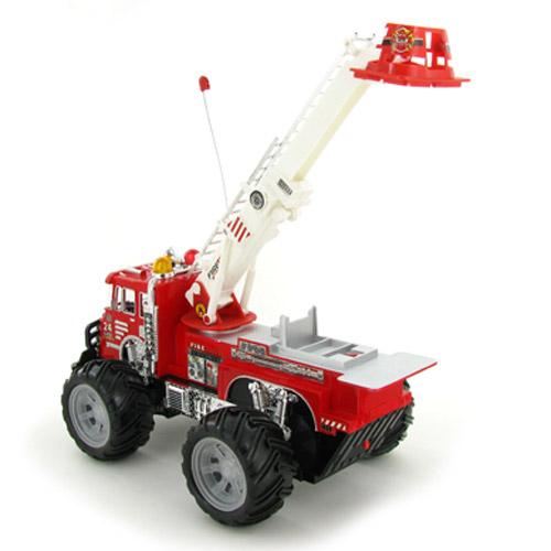 Радиоуправляемая Пожарная машина 1:24 1911-22A (34 см.) - Фото