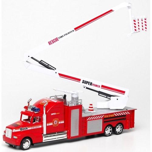 Радиоуправляемая Пожарная машина с мыльными пузырями (40 см)