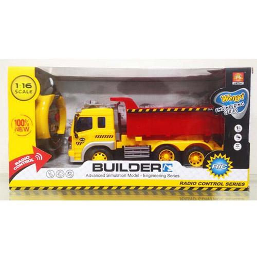 Радиоуправляемый Самосвал 1:16 Builder (30 см.) - В интернет-магазине
