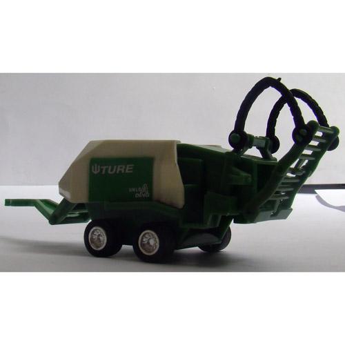 Радиоуправляемый трактор с прицепом - Изображение