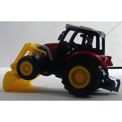Радиоуправляемый трактор с прицепом - Картинка