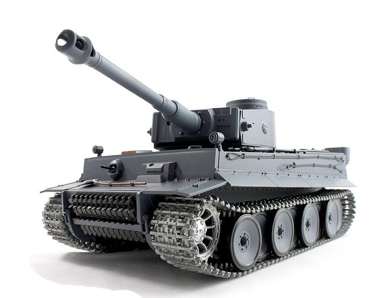 Радиоуправляемый танк «Тигр 1» Tiger-1 с пневмопушкой  (1:16, Tiger-1, с дымом)